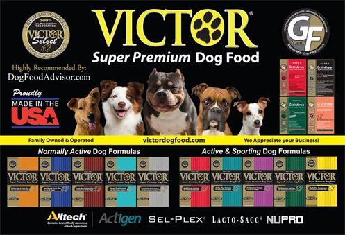 Victor Dog Food Distributors